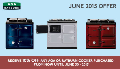 AGA & Rayburn Cookers 10% OFF