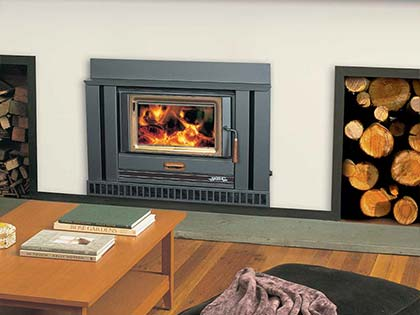 Wood Heating | French Fireplaces | Open Fireplace | Wood